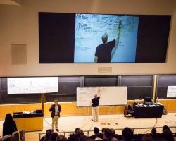 Team facilitation to create final visual map