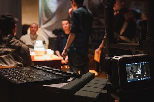 Studio Crew Post Filming